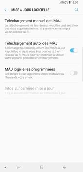 Samsung Galaxy S8 Plus - Android Oreo - Logiciels - Installation de mises à jour - Étape 6