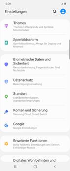 Samsung Galaxy Z flip - Startanleitung - So aktivieren Sie eine SIM-PIN - Schritt 4