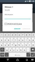 Sony Xperia XA - Android Nougat - Wifi - configuration manuelle - Étape 6