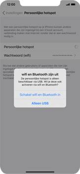 Apple iPhone XR - iOS 13 - Internet - mijn data verbinding delen - Stap 7