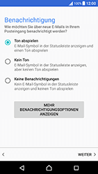 Sony Xperia X Performance - E-Mail - Konto einrichten (outlook) - 14 / 18