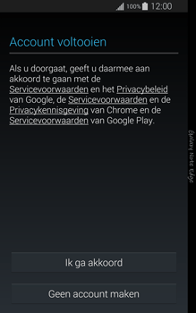 Samsung Galaxy Note Edge - apps - account instellen - stap 14