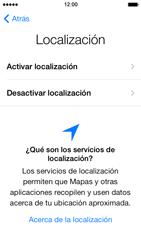 Apple iPhone 5s - Primeros pasos - Activar el equipo - Paso 7