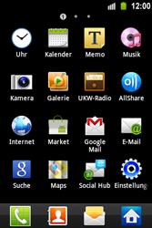 Samsung S5830 Galaxy Ace - WLAN - Manuelle Konfiguration - Schritt 3