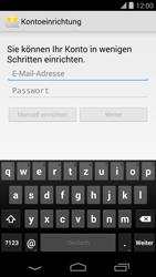 LG Google Nexus 5 - E-Mail - Konto einrichten - 1 / 1