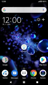 Sony Xperia XZ2 Premium - Android Pie - Fehlerbehebung - Handy zurücksetzen - Schritt 1