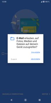 Sony Xperia XZ3 - E-Mail - Konto einrichten (outlook) - Schritt 12