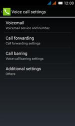 Alcatel OT-4033X Pop C3 - Voicemail - Manual configuration - Step 7