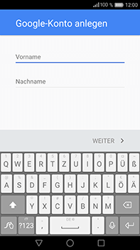 Huawei P9 Plus - Apps - Konto anlegen und einrichten - Schritt 4