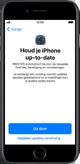 Apple iPhone 8 Plus (Model A1897) - Instellingen aanpassen - Activeer het toestel en herstel jouw iCloud-data - Stap 29