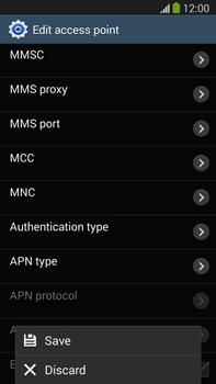 Samsung N9005 Galaxy Note III LTE - MMS - Manual configuration - Step 15