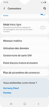 Samsung Galaxy A20e - Internet - comment configurer un point d'accès mobile - Étape 5