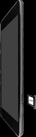 Apple iPad Air 2 - iPadOS 13 - Appareil - Insérer une carte SIM - Étape 4