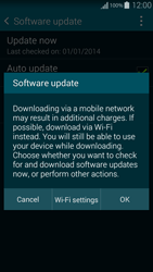 Samsung G850F Galaxy Alpha - Software - Installing software updates - Step 8