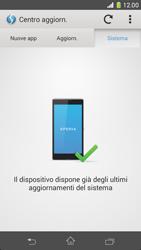 Sony Xperia Z1 Compact - Software - Installazione degli aggiornamenti software - Fase 8