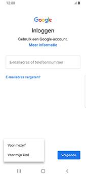 Samsung galaxy-s9-sm-g960f-android-pie - Applicaties - Account aanmaken - Stap 6