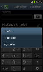 Samsung I8190 Galaxy S3 Mini - Anrufe - Anrufe blockieren - Schritt 9