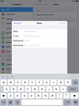 Apple iPad mini 4 iOS 10 - E-mail - e-mail instellen: POP3 - Stap 7