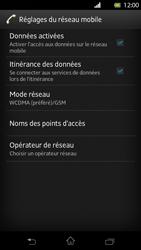 Sony Xperia T - Internet et roaming de données - Désactivation du roaming de données - Étape 6
