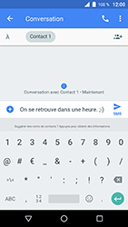 Wiko WIM Lite - Contact, Appels, SMS/MMS - Envoyer un SMS - Étape 8