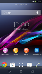 Sony Xperia Z1 Compact - Software - Update - 1 / 4