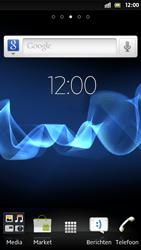 Sony ST25i Xperia U - WifiSpots - WifiSpots instellen - Stap 1