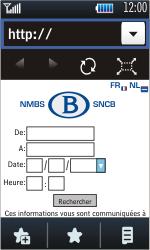 Samsung S5620 Monte - Internet - navigation sur Internet - Étape 12