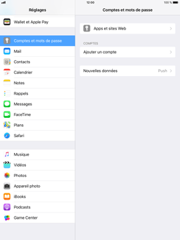Apple iPad Air 2 - iOS 11 - E-mail - configuration manuelle (Gmail) - Étape 4
