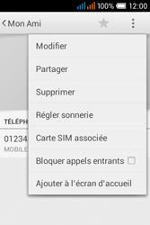 Alcatel OT-4015X Pop C1 - Contact, Appels, SMS/MMS - Ajouter un contact - Étape 9