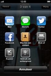 Apple iPhone 4 (iOS 6) - e-mail - hoe te versturen - stap 7