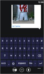 Samsung I8350 Omnia W - MMS - envoi d'images - Étape 9