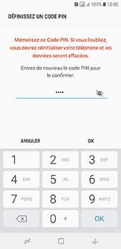 Samsung Galaxy A6 - Sécurité - activéz le code PIN de l'appareil - Étape 10