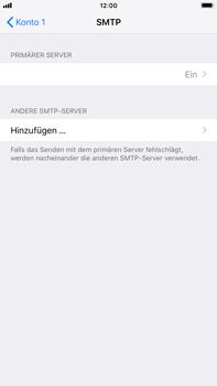 Apple iPhone 8 Plus - iOS 12 - E-Mail - Konto einrichten - Schritt 17