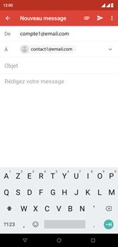 Wiko View 2 Plus - E-mail - envoyer un e-mail - Étape 6