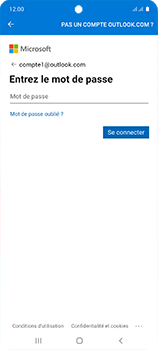 Samsung Galaxy A51 - E-mail - 032c. Email wizard - Outlook - Étape 9