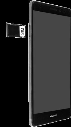 Huawei Mate S - SIM-Karte - Einlegen - Schritt 5