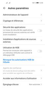 Huawei P40 Lite 5G - Sécuriser votre mobile - Personnaliser le code PIN de votre carte SIM - Étape 5