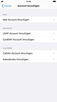 Apple iPhone 8 Plus - iOS 14 - E-Mail - Manuelle Konfiguration - Schritt 6