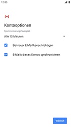 Nokia 8 - Android Pie - E-Mail - Manuelle Konfiguration - Schritt 19