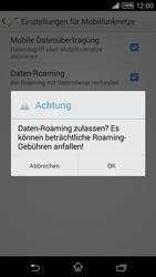 Sony D5103 Xperia T3 - Ausland - Im Ausland surfen – Datenroaming - Schritt 9