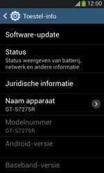 Samsung S7275 Galaxy Ace III - Software update - update installeren zonder PC - Stap 6