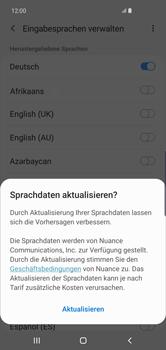 Samsung Galaxy S10 Plus - Startanleitung - So fügen Sie eine Tastatursprache hinzu - Schritt 10