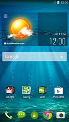 Acer Liquid Z410 - Voicemail - Handmatig instellen - Stap 1