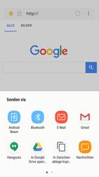 Samsung Galaxy A5 (2017) - Android Nougat - Internet und Datenroaming - Verwenden des Internets - Schritt 21