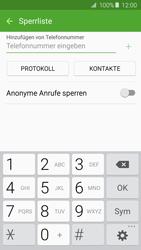 Samsung Galaxy A3 (2016) - Anrufe - Anrufe blockieren - 1 / 1