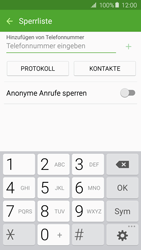 Samsung A510F Galaxy A5 (2016) - Anrufe - Anrufe blockieren - Schritt 8