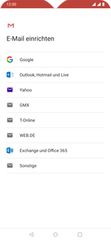 OnePlus 6T - Android Pie - E-Mail - Konto einrichten - Schritt 7