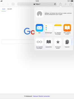 Apple iPad mini 3 - Internet - Internet verwenden - 1 / 1