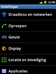 Samsung S5300 Galaxy Pocket - bluetooth - aanzetten - stap 4