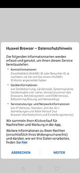 Huawei Nova 5T - Internet und Datenroaming - Verwenden des Internets - Schritt 4